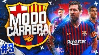¡FINAL SUPERCOPA ESPAÑA VS. SEVILLA! #03 | MODO CARRERA - FC BARCELONA | FIFA 19
