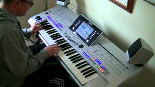 Elvis - American Trilogy - Yamaha Tyros - Cover Performed Live