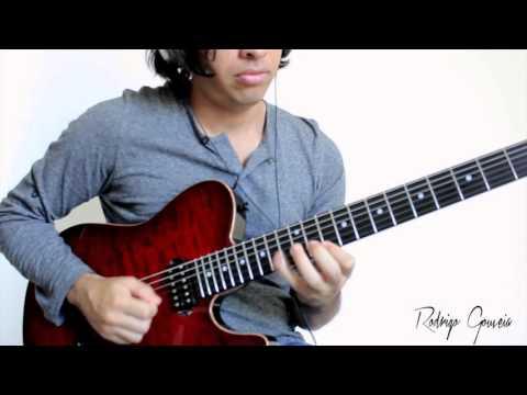Jazz fusion guitar lick