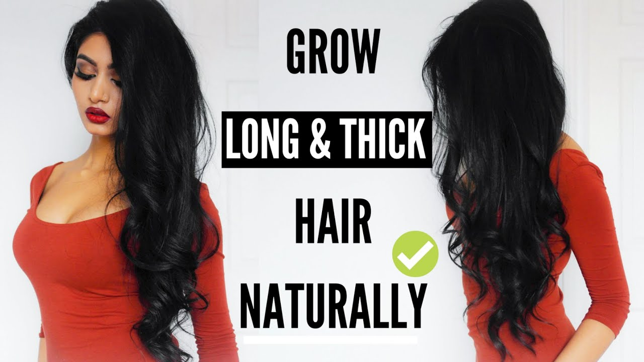 How To Make My Hair Thicker And Longer Naturally