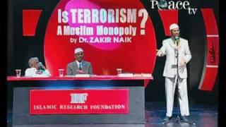 Dr Zakir Naik - George Bush is a terrorist
