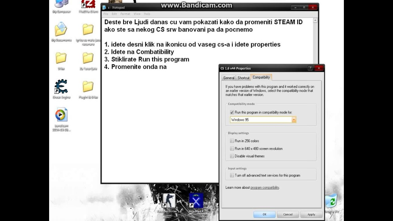 Tut How To Change Steam Id In Cs 1 6 Works 100 Youtube