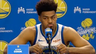 Quinn Cook Press Conference | Warriors Media Day | 24.09.2018