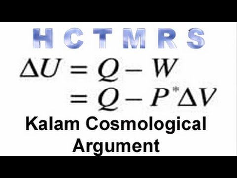 How Creationism Taught Me Real Science 26 Kalam Cosmological Argument
