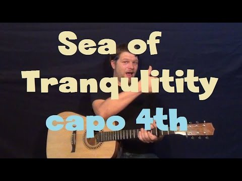 Sea Of Tranquility Gordon Lightfoot Easy Guitar Lesson How To Play