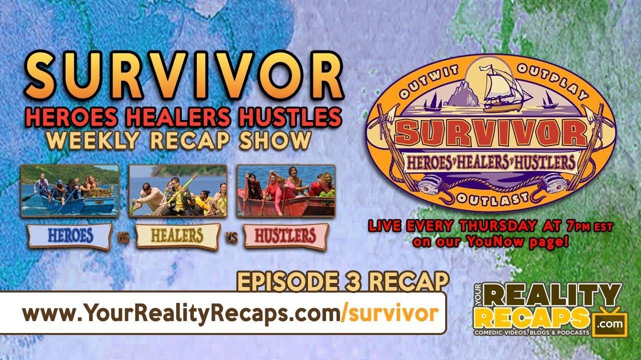 Survivor 35: Heroes, Healers, Hustlers EP3 RECAP