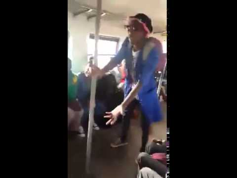 Funniest video_ Mshana noMalume doing in the train