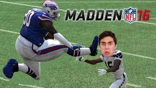 Can the FATTEST Player in the NFL Score a 99 Yard TD on the FASTEST Defense? Madden 16 Challenge