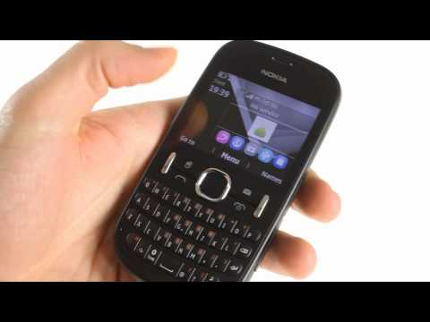 Nokia Asha 200 unboxing and user interface demo