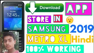 How to download App Store in Samsung metro xl