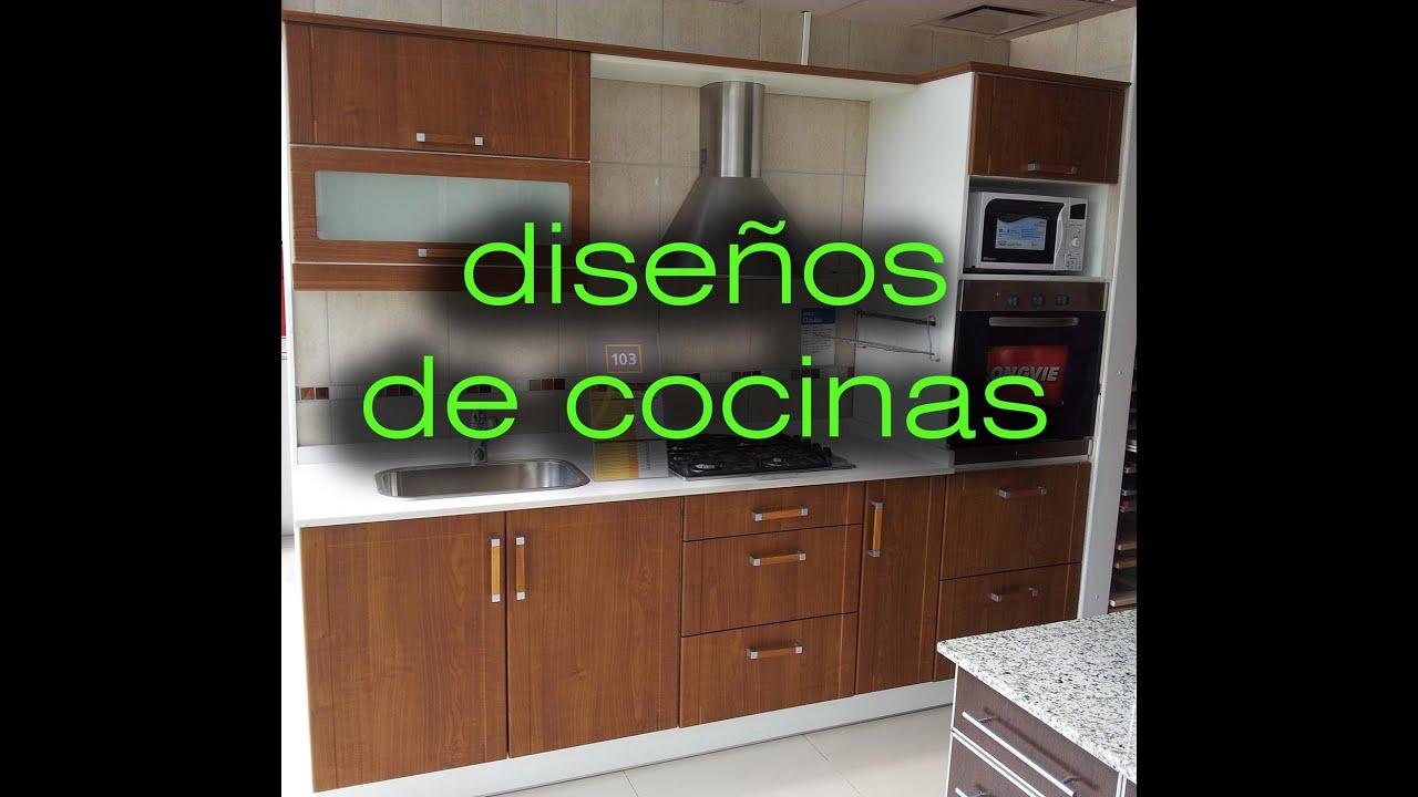 Muebles De Madera Para Cocina Pequeña | Blog De Cocinas Decoración Y ...