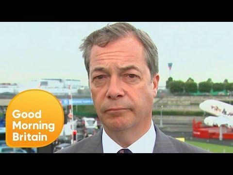 Nigel Farage Compares the North Korean Leader to Adolf Hitler | Good Morning Britain