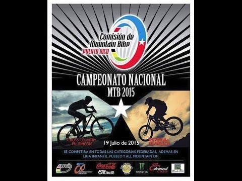 Campeonato  nacional Downhill 2015  Añasco, Puerto Rico