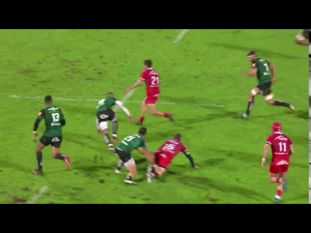 PRO D2 - L'image de la J4 : Aurillac comme les All Blacks