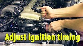 Set ignition timing on 240sx ka24de