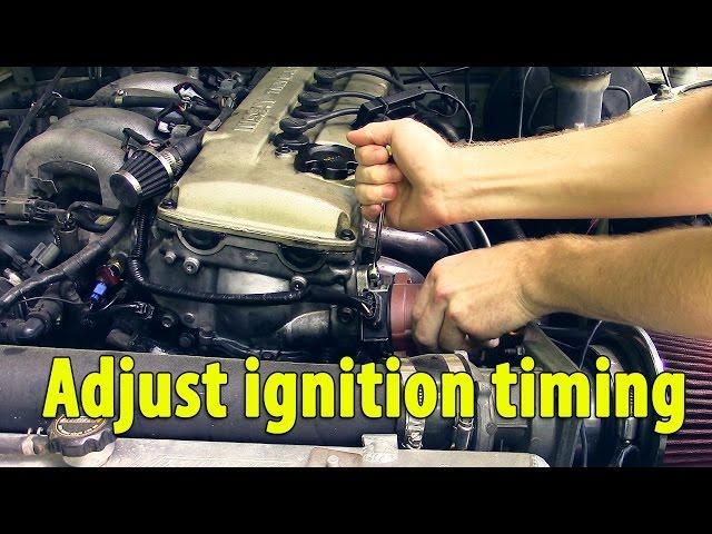 Setting Ignition Timing 240sx KA24de - YouTube