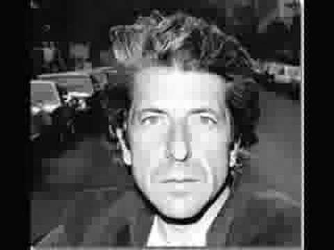 Leonard Cohen: Tennessee Waltz