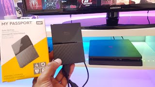 HOW TO Increase storage on PS4 with an External Hard Disk