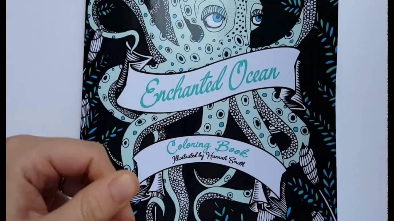 Enchanted Ocean Coloring Book By Hannah Smith