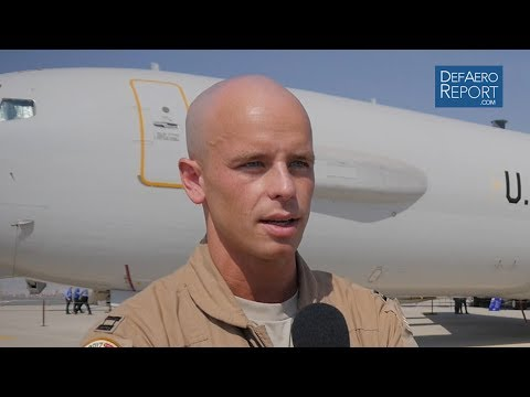 USAF's Cooke On Role Of E-3 Airborne Warning And Control System Aircraft