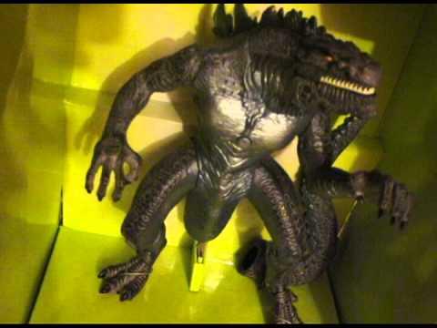 Godzilla 1998 Toy Figure Electronic Living Godzilla With ...