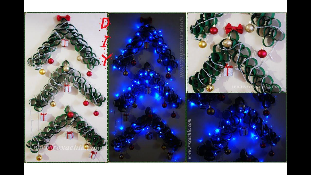 Well-known ✂DIY | Árvore de Natal Decorada | Feita com Rolos de Papel  YW09