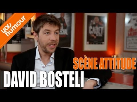 DAVID BOSTELI - J'ai beaucoup de complexes
