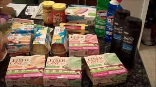 Diet friendly coupon haul :)