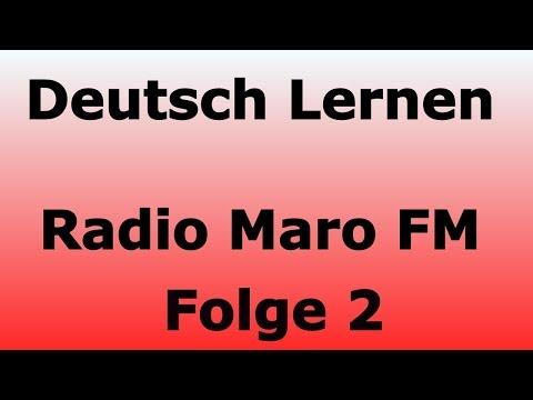 Radio Maro FM - Deutsch Lernen - Freizeit in Deutschland mit Claudia - Folge 2