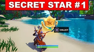 SECRET BATTLE STAR WEEK 1 SEASON 8 LOCATION! - Fortnite Battle Royale (Discovery Challenges)