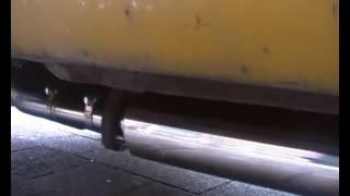 New 2 in 1Inox exhaust 2cv ami dyane Mehari