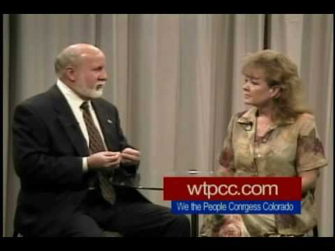 Terry Dodd candidate for Delegate for Continental Congress 2009 interviewed by Linda part 1