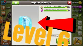 Freeze spell lv7 | clash of clans Greek