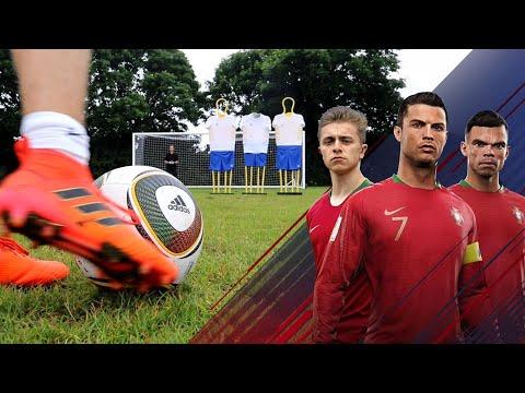 JABULANI Free Kick Challenge | Ronaldo's Road To The World Cup - EP. 1
