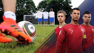 Download JABULANI Free Kick Challenge   Ronaldo's Road To The World Cup - EP. 1 Mp3 and Videos