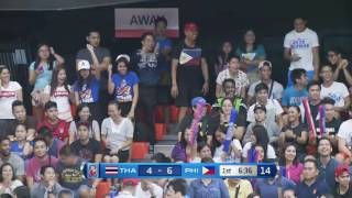 Philippines vs. Thailand  | May 26, 2016 , 2016 | 5th SEABA Stankovic Cup 2016 THAILAND (ENG)