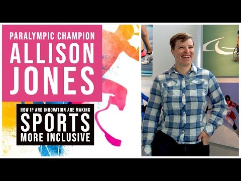 Paralympic Champion Allison Jones on IP and Sports
