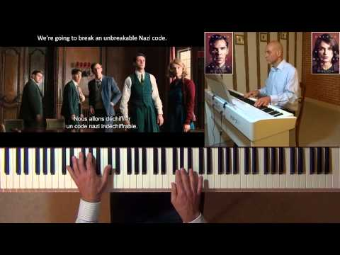 The Imitation Game (Alexandre DESPLAT) – piano cover