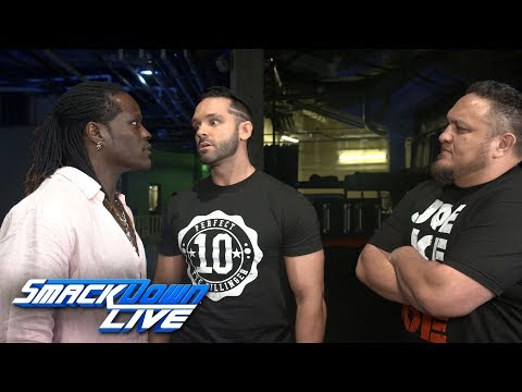 Tye Dillinger challenges Samoa Joe to a match: SmackDown Exclusive, July 3, 2018