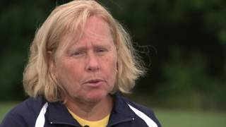 Gambar cover Lorraine Scheftic Cazenovia Field Hockey Coach for Game Changers - Produced by Tad Fundalinski