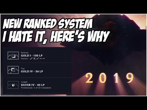 NEW RANKED REWORK. I HATE IT, HERE'S WHY | League of Legends thumbnail
