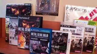 Metal Gear Solid 3 - Game Collection (Crazy fan!)