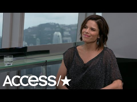 Neve Campbell Always Knew She'd Adopt & Says Her Son Caspian Loves Being A Big Brother | Access