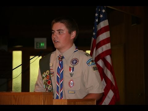 Ryan Mahoney's Eagle Scout Court of Honor