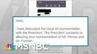 Shocking New Evidence Released In Trump Impeachment Case - Day That Was | MSNBC