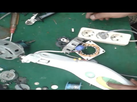 Memperbaiki Kipas Angin Miyako Yang Mati Youtube