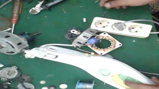 Memperbaiki kipas angin miyako yang mati