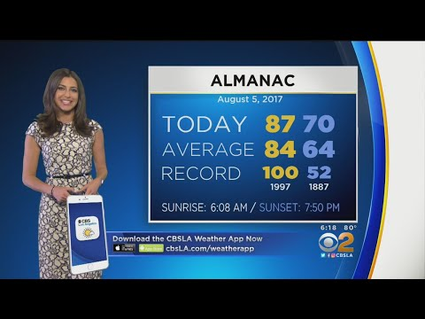 Danielle Gersh's Weather Forecast (Aug. 5)