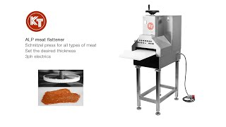 KT ALP meat press