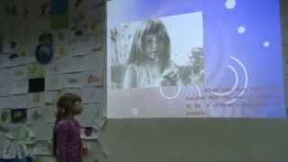 Вероника 5 лет Доклад на английском
